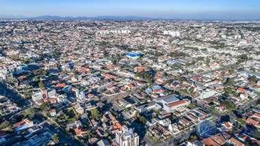 foto aérea do bairro flood