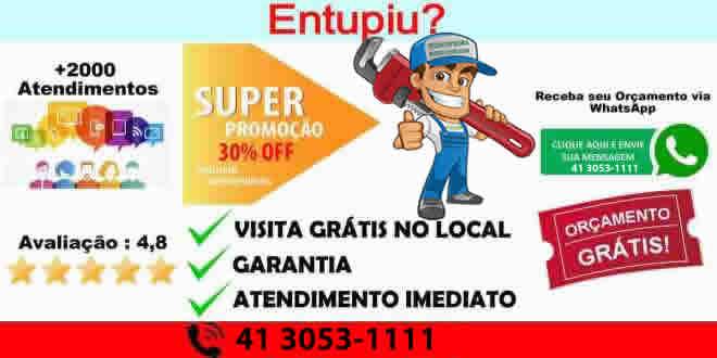 Telefone Desentupidora Hidro Curitiba