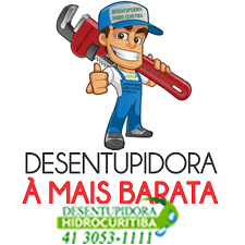 Desentupidora Mais Barata de Curitiba