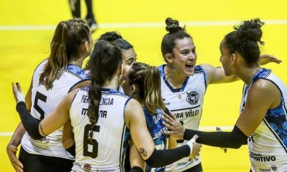 Curitiba x Fluminense - Superliga feminina